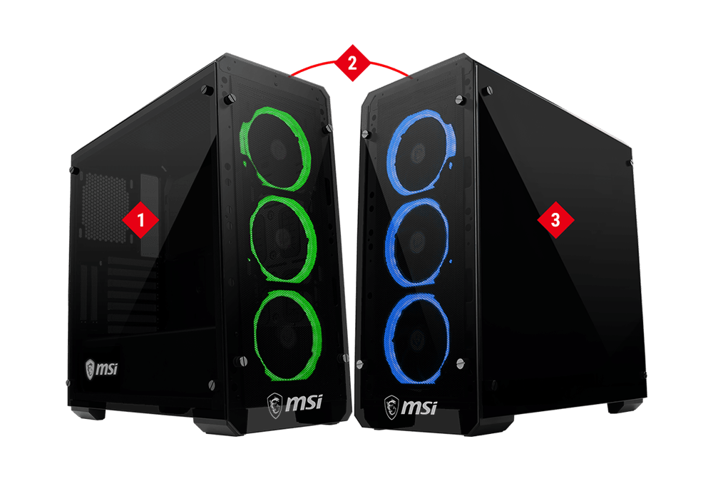 MSI MAG PYLON CASE Glass