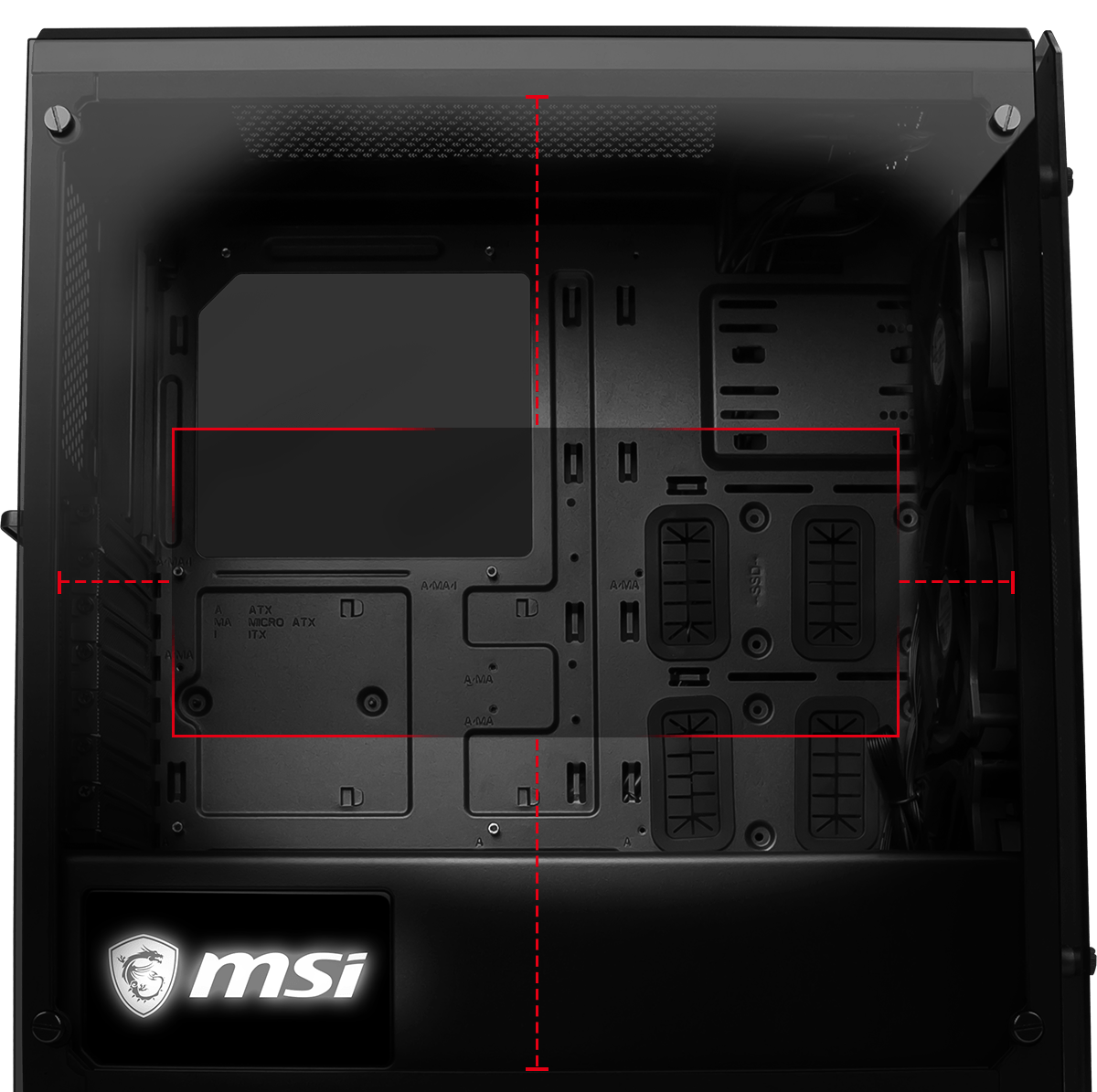 MSI MAG PYLON TOWER CASE