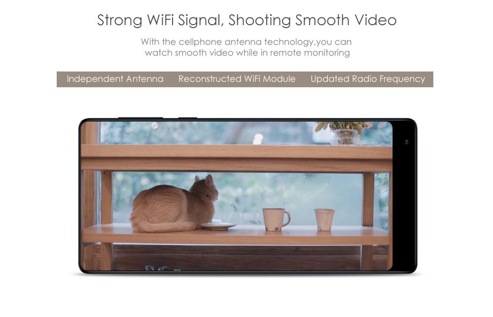 Xiaomi mijia Smart 720P WiFi IP Camera Pan-tilt Version Night Vision / 360 Degree View