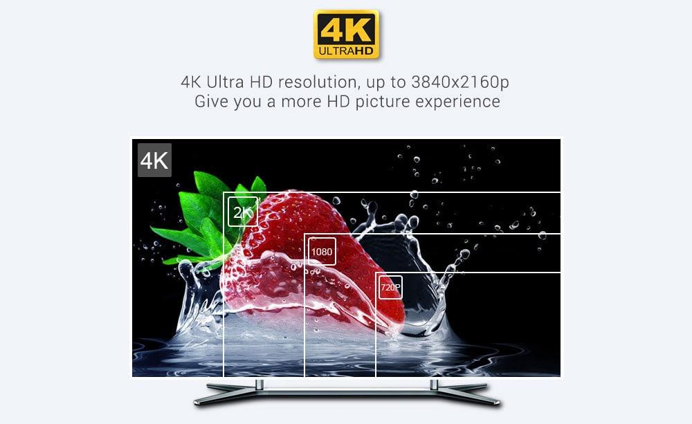 MECOOL KM9 Android 8.1 TV Kutusu- Siyah EU Fiş