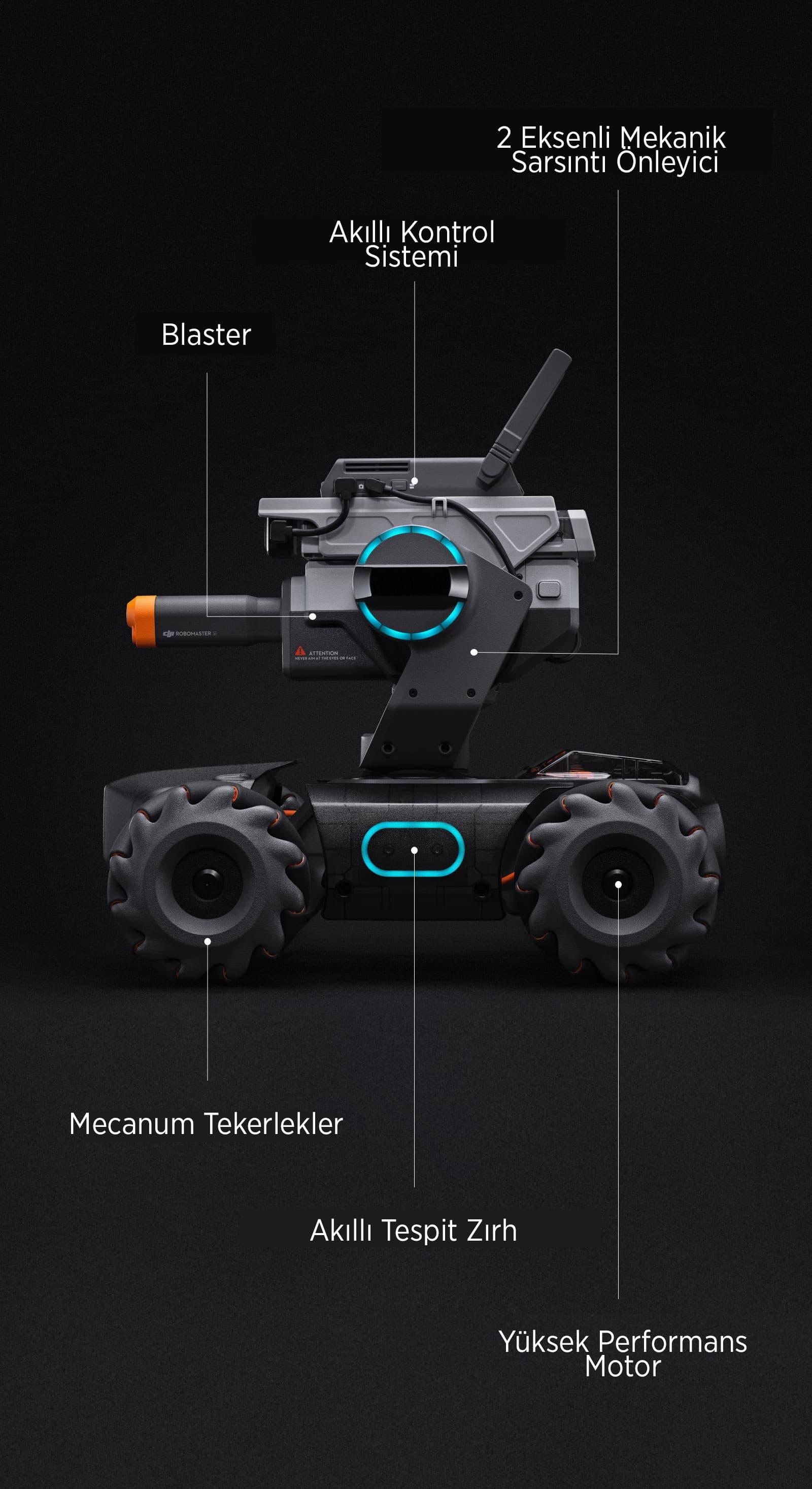 Robomaster S1 Build