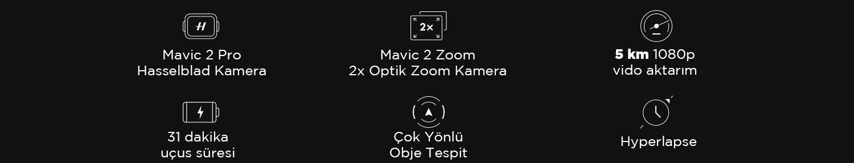 Mavic 2 özellikleri
