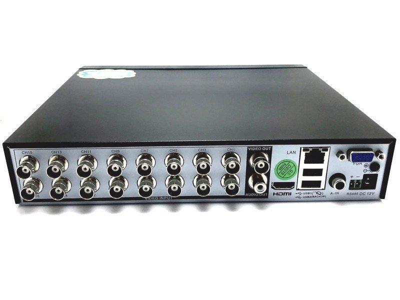 Avenir AV-TC16M 16Kanal H265 AHD DVR Kayıt Cihazı (Hybrid)