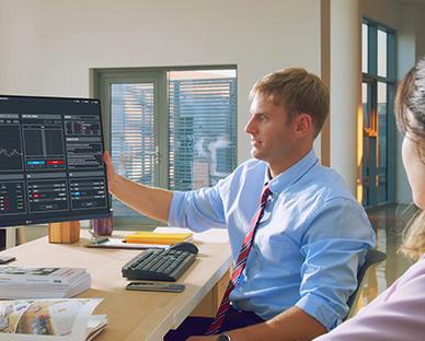 Ergo ile Ofisten Çalışan Kullanıcı Sahnesi