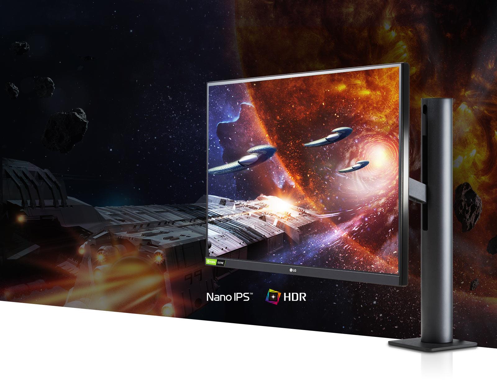 Nano IPS ve HDR10'u destekler