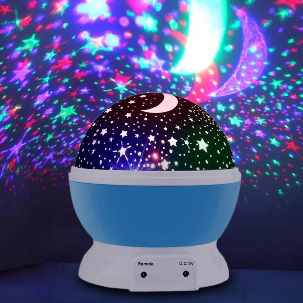 Yıldız Projeksiyon tasarımlı gece lambası