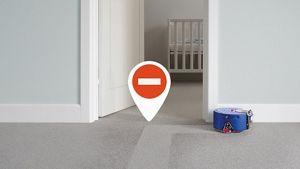 Robot bir çocuğun yatak odasından kaçıyor