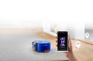 Dyson 360 Heurist robotu kontrol eden Dyson Link uygulaması