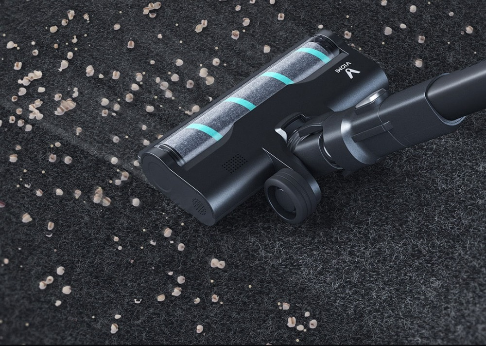 VIOMI A9 Handheld Wireless Vacuum Cleaner Front LED Light 23KPa Portable Cordless floor Carpet Dust Collector, Removable battery 6