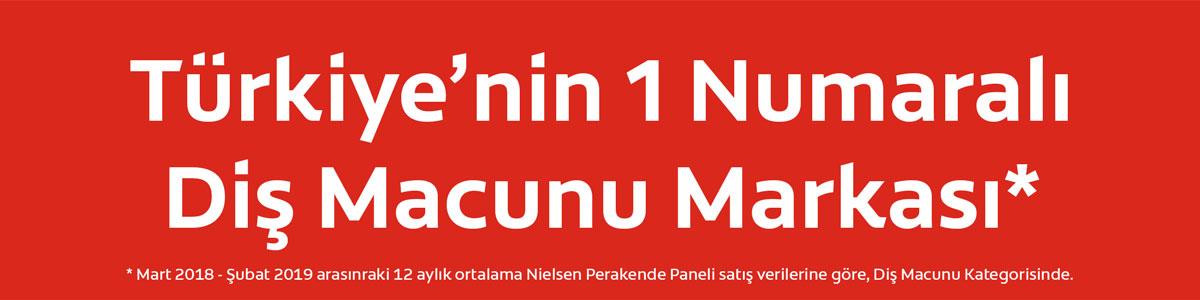 Türkiye'nin 1 Numaralı Diş Macunu Markası