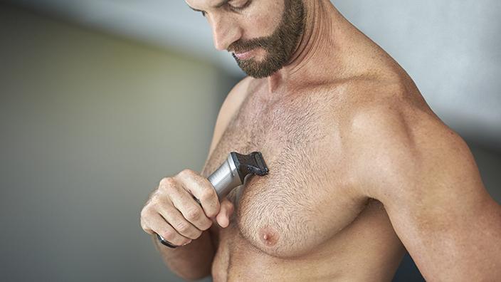 Cilt koruyuculu vücut tıraş başlığı