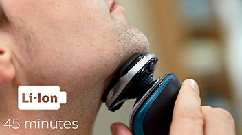 30 dakika kablosuz tıraş