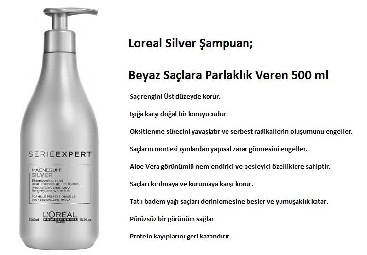 Loreal Serie Expert Silver şampuan 500ml Fiyatı