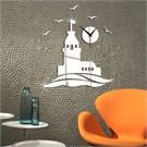 Decorcity M0101 Dekoratif Duvar Saati