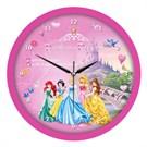 Disney Lisanslı Cocuk Odası Duvar Saati Prensesler
