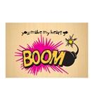 Biggdesign Boom Ahşap Kartpostal