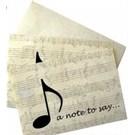 Not İletme Kartı - A Note To Say