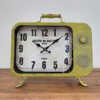 N'crea Home Sarı Televizyon Masa Saati