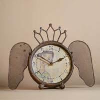 Evlina Home Kelebek Kanatlı Dekoratif Saat