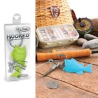 BuldumBuldum Hooked - Balık Tutan Anahtarlık - Yeşil