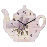 Clockmaker By Cadran 30x25 MDF Demlik Duvar Saati CMM216
