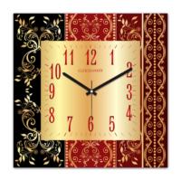 Clockmaker By Cadran 30x30 Mdf Duvar Saati CMM251