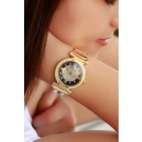 Clariss Marka Sarı Kaplama Renk Tasarımlı Bayan Saat