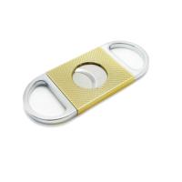 Angelo Sarı ve Gri Çelik Puro Makası ht06
