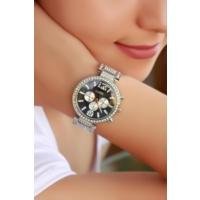 Clariss Gri Renk Tasarımlı Bayan Saat