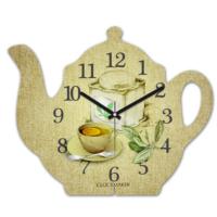 Clockmaker 30x25 MDF Demlik Duvar Saati CMM201