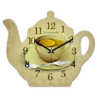 Clockmaker 30x25 MDF Demlik Duvar Saati CMM202
