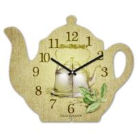 Clockmaker 30x25 MDF Demlik Duvar Saati CMM203