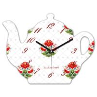 Clockmaker 30x25 MDF Demlik Duvar Saati CMM211