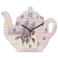 Clockmaker 30x25 MDF Demlik Duvar Saati CMM216