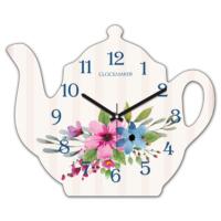 Clockmaker 30x25 MDF Demlik Duvar Saati CMM218