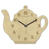 Clockmaker 30x25 MDF Demlik Duvar Saati CMM219
