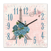 Clockmaker 30x30 Mdf Duvar Saati CMM286