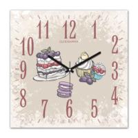 Clockmaker 30x30 Mdf Duvar Saati CMM296