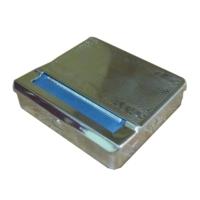 Adell Metal Rollbox Sigara Sarma Tabakası - Gümüs
