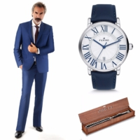FTE001 Ferro Erkek Kol Saati-Takım Elbiseli