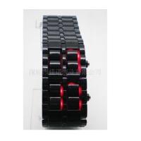 Original Boutique Led Kol Saati Kordon Görünümlü Plastik Siyah