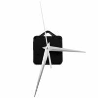Kayıkcı Akar Saat Mekanizma Seti -Siyah Metal Gösterge
