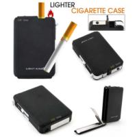 Kayıkcı Çakmaklı Sigara Tabakası Yarı Otomatik - Lighter Cigarette Case