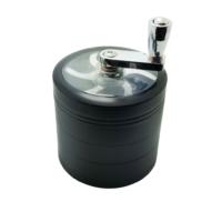 Siyah Mixerli Grinder,Çelik Tütün Öğütücüsü Parçalayıcı Ps90