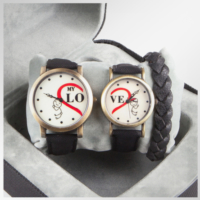 The End Sevgili Saatleri Love Aşk Çift Kombini