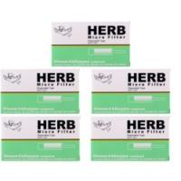 Herb Micro Filter KullanAt Sigara Ağızlığı 5li Paket