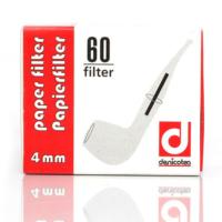 Denicotea 4 mm 60 Adet Pipo Filitre, Filitresi pt04