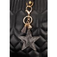Morvizyon Yıldız Figürlü Parlak Taşlı Anahtarlık An140