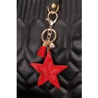 Morvizyon Yıldız Figürlü Parlak Taşlı Anahtarlık An143