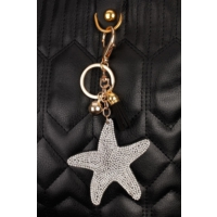 Morvizyon Yıldız Figürlü Parlak Taşlı Anahtarlık An155